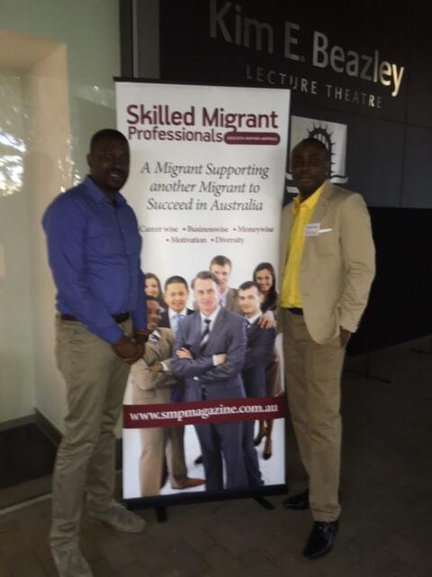 Interstaff team at the 2016 Skilled Migrants Professionals Seminar