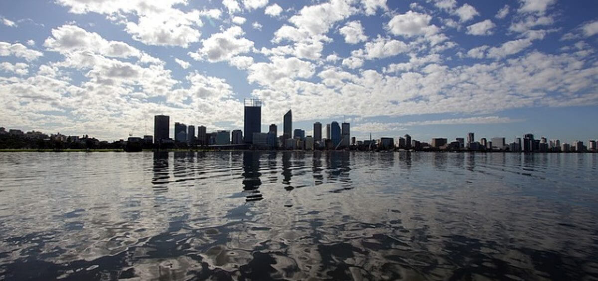 Swan River in Perth as 187 Visas are no longer eligible in Perth