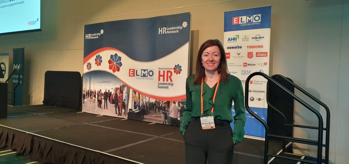 Interstaff's Sheila Woods at the 2018 HR Leadership Summit