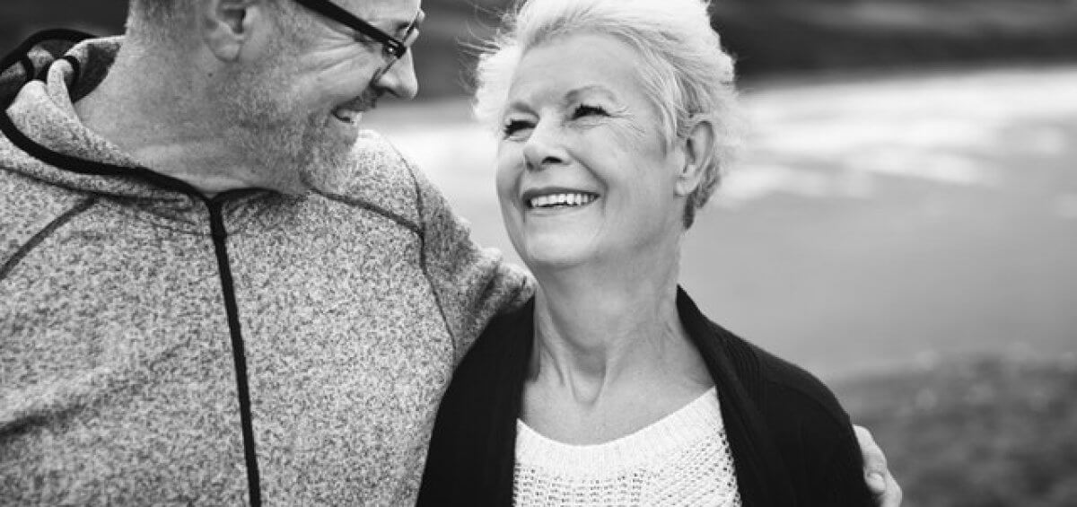 Middle aged couple smiling about the new Temporary Parent visa coming into action on 17 April 2019