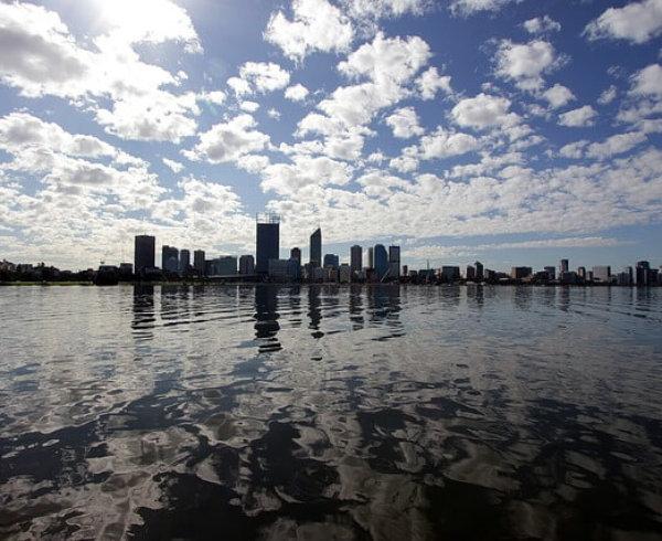 Snapshot of Swan River during WA Day long weekend
