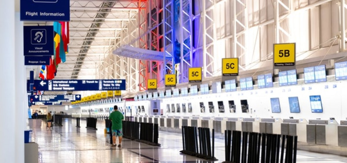 Empty airports as exemptions to Australia's travel ban are introduced