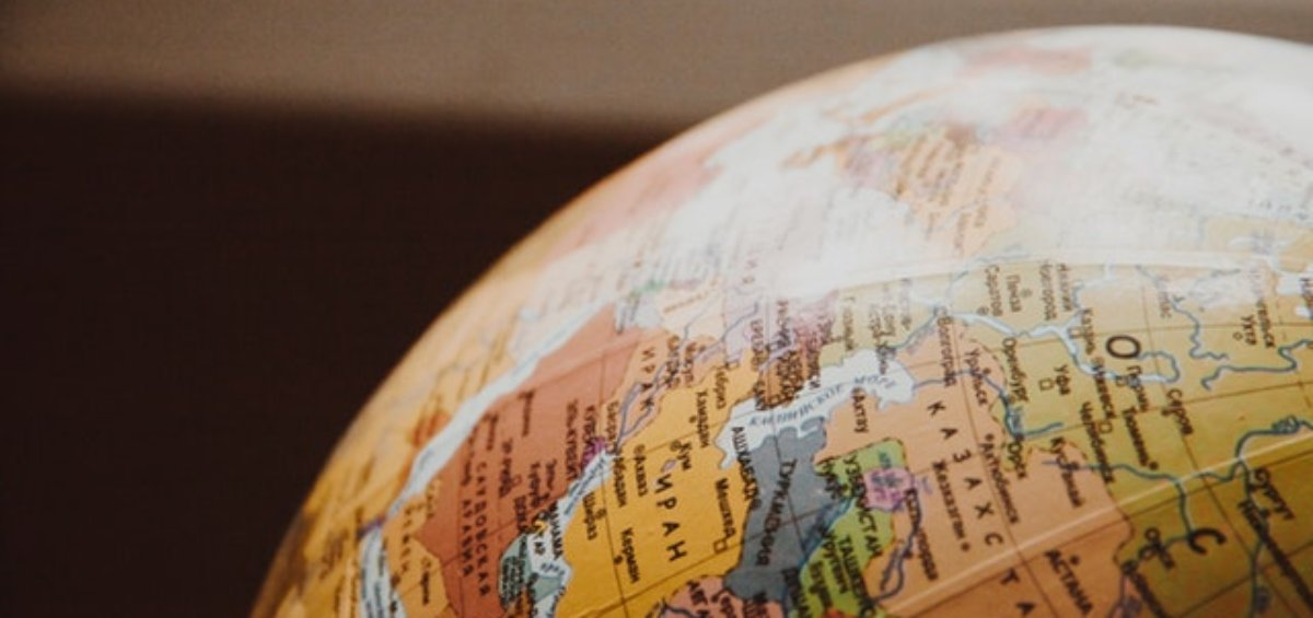Globe of the world as travel ban exemptions are further updated to Australia